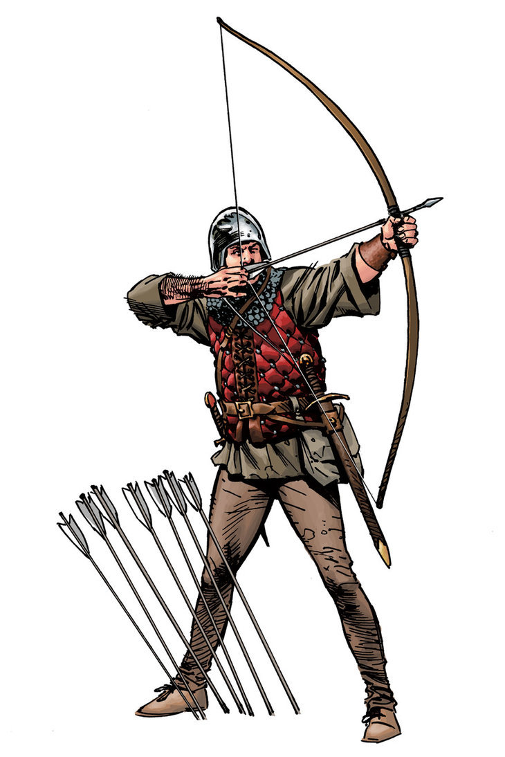 Arc long anglais longbow