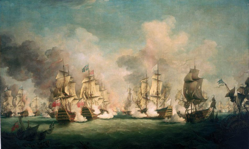 Paton,_Battle_of_Barfleur