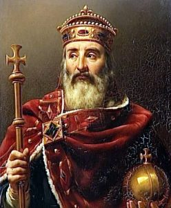 charlemagne le grand roi
